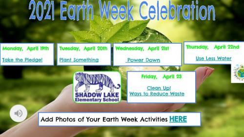 Earth Week Celebration