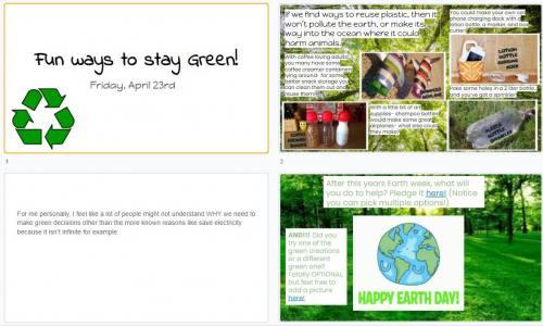 Earth Week Friday