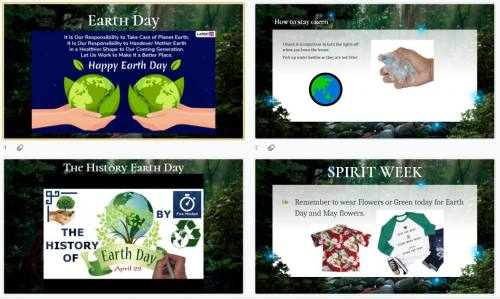 Earth Week Thursday
