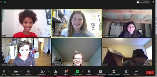 Green Team Zoom Meeting